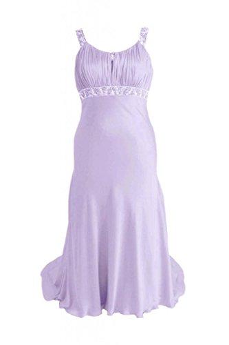 Daisyformals Robe De Soirée Encolure Dégagée Longueur De Plancher Robe De Bal De Perles (pr6540) # 7-lavande