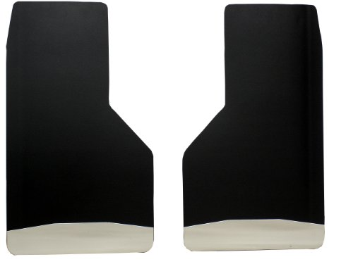UltimateFlap UF1004 14 Inch Rear Mud Flap with Stainless Steel Weight