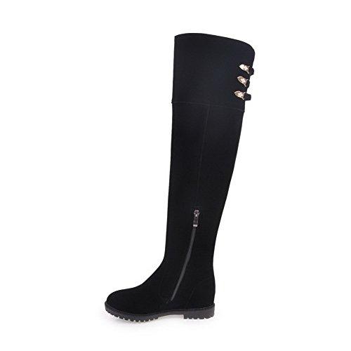 BalaMasa Abl09848 Sandales Compensées Femme Noir, 37.5 EU, ABL09848