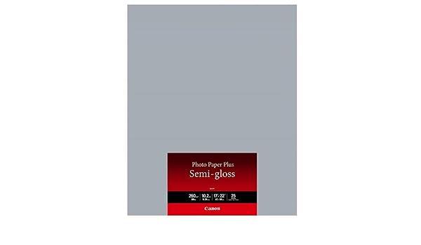 """25 Sheets Canon Photo Paper Plus Semi-Gloss 17 x 22/"""" SG-201"""