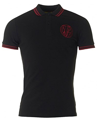 Versace Jeans Vj Circle Logo Polo BLACK XL