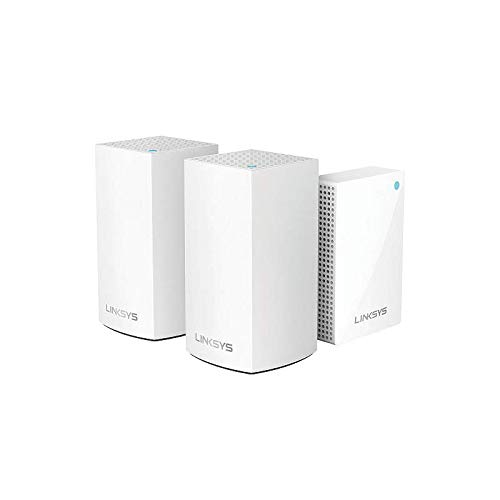 Velop Intelligent Mesh WiFi System, 1 Plug-in + 2 Dual-Band AC3600 Nodes by Velop