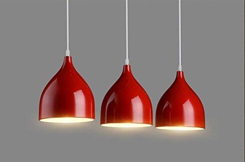 lampadario europea Ristorante Chandelier LED personalità creativa  Ristorante Vento industriale Sala per tre moderni minimalista Bar