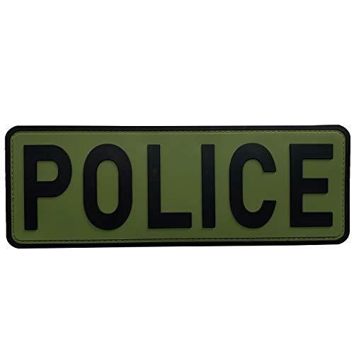 uuKen Large Police Patch 8.5