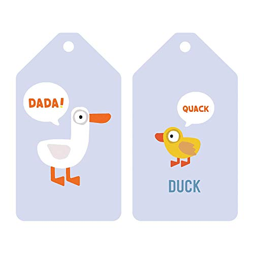 318RLSefUoL - Mudpuppy Jimmy Fallon Your Baby's First Word Will Be DaDa Flash Cards (First Words Flash Cards, for Toddlers, Baby Flash Cards)