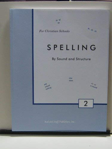 Spelling By Sound and Structure, 2