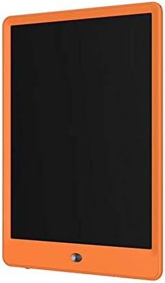 LKJASDHL 10インチハイライト手書きボード子供用手描きボードLcdライト電子タブレットLCDボード小さな黒板ホワイトボードペン (色 : オレンジ)