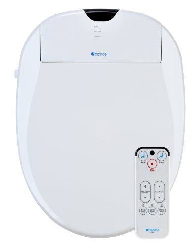 Brondell S900-EW Swash 900 Advanced Bidet Elongated Toilet Seat, White