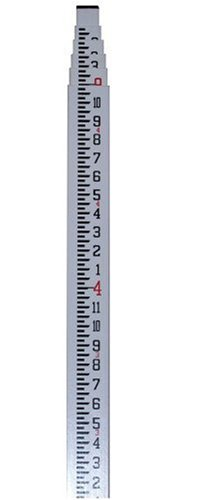 CST/berger 06-916C MeasureMark 16-Foot 5 Section Fiberglass Grade Rod in Feet, Inches, and Eighths (One Eighth Of An Inch On A Ruler)