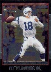 2001 Bowman Chrome Football Card #67 Peyton Manning Mint (2001 Bowman Football)