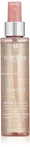 Rene Furterer LUMICIA Illuminating Vinegar Shine Rinse,  Radiance Boosting, Dull Hair, 5 oz.