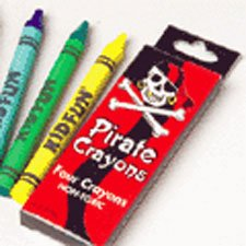 U.S. Toy Childrens Crayons (Pirate Crayons)