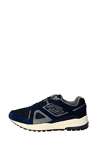 Lotto S2030 Sneakers Herren Spaltleder Blau