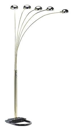 ORE International 6962G 5 Arm Arch Floor Lamp, Gold - - Amazon.com