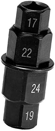 Fireangels Spindelschlüssel Für Motorrad 17 Mm 19 Mm 22 Mm 24 Mm Auto