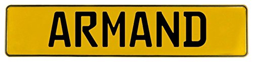 Vintage Parts 582453 Wall Art (Armand Yellow Stamped Aluminum Street Sign - St Armand Circle