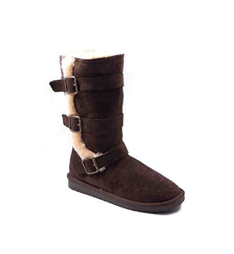 Jumex Stiefel Stiefelette Winterschuhe SexY 3VG-1147HM Viele Farben Brown