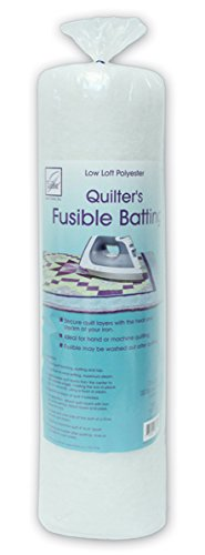 June Tailor Quilt Low Loft Fusible Batting, 72 x 90-Inch/Twin by June Tailor