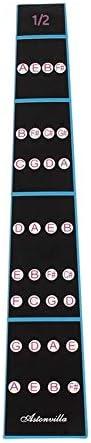 練習初心者のための4/4バイオリンフィドルフィンガーガイド指ステッカーラベルイントネーションチャートフレットボードマーカー 耐久性 交換パーツ (Color : 3)