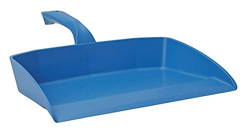 Vikan Polypropylene Hand Held Dust Pan, Overall Length 11-1/2, Overall Width 13 - 56603-Pack of 2 ()