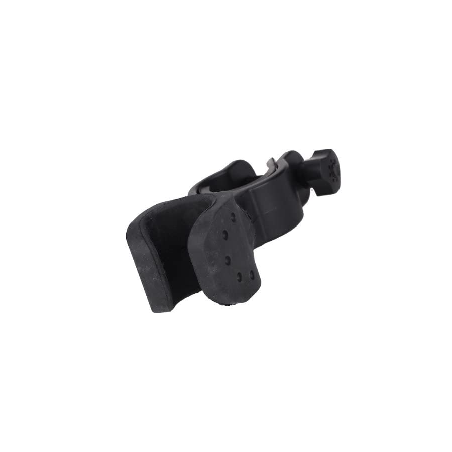 Andesan Dedicated 360 Degree Rotatable Bicycle Light Lamp Torch Mount Holder Clip(Black)