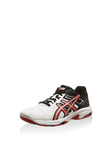 Asics Zapatillas Gel-Resolution 5 GS Negro/Blanco/Rojo EU 37