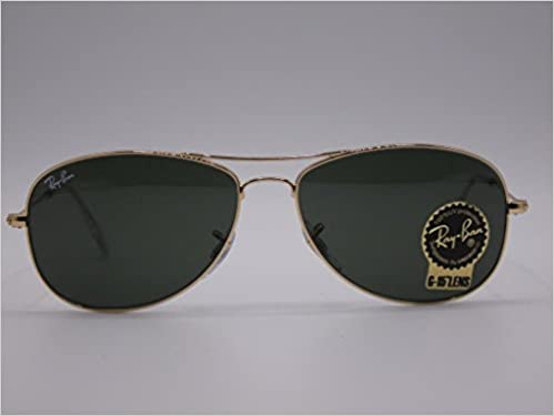 b18f4203c20 Ray-Ban Cockpit - RB3362 001 56 (Gr.56 S)  Amazon.co.uk  Books