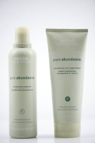 - Aveda Pure Abundance Volumizing Shampoo 8.5 oz & Clay Conditioner 6.7 DUO