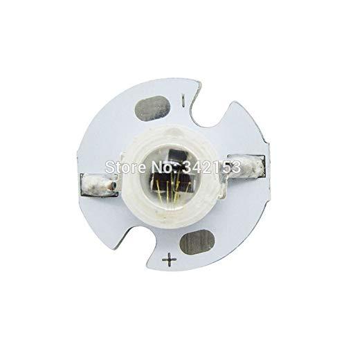 Jammas High Power 3W 850NM Infrared IR Led Emitter Dideos Light Beads 1.5-1.7V 1000mA for CCTV Cameras Downlight
