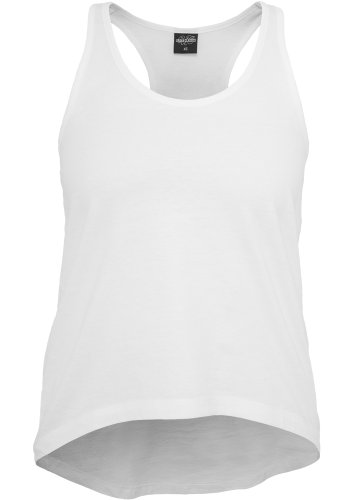 Urban Classics Ladies Wide Tank blanco