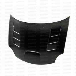 Seibon TS-Style Carbon Fiber Hood for 2003-2005 Dodge Neon SRT-4 ()