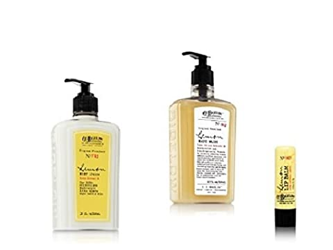 Bath & Body Works - C.O. BIGELOW – LEMON – 3 PC set - Body Lotion, Hand Wash & Lip Balm Stick (Co Bigelow Hand Lotion)