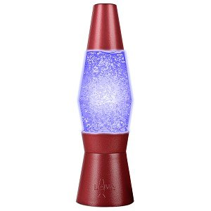 Lava World End Ups The Lighted Series 2503 Battery Powered 6u0026quot; Color  Phasing Mini Glitter