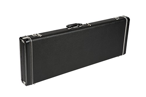 Fender Hardshell Case (Fender Mustang/Jag-Stang/Cyclone Multi-Fit Case, Standard Black with Black Acrylic Interior)