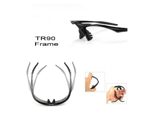 Pequeño trato directo LVXING Cycling Wrap Running Outdoor Sports lentes intercambiables 5 lentes Multi polarizadas UV400: Amazon.es: Deportes y aire libre