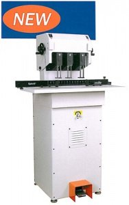 Lassco FMMH-2 - Two (2) Spindle Moveable Heads 2 Inch Capacity Hydraulic Paper Drill ()
