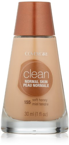 (CoverGirl Clean Liquid Makeup, Soft Honey (W) 155, 1.0-Ounce Bottles (Pack of 2))