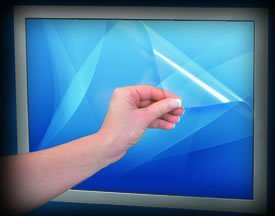 POSRUS Antiglare Touch Screen Protector for 15'' Touch Screen or LCD Screen - 12'' x 9'' (304.8mm x 228.6mm)