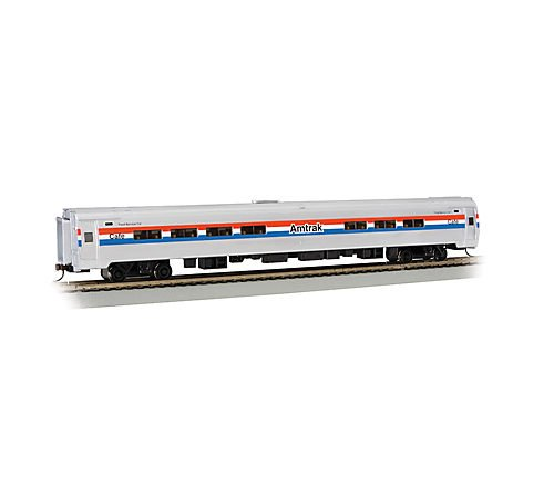 Bachmann Industries Inc. Amtrak Budd Passenger Car 85' Amfleet I Phase III Amtrak Cafe (Lighted Interior) - N Scale 14161