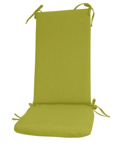 Paradise Cushions Indoor/Outdoor 2-Piece Seat/Back Rocker Cushion, Kiwi