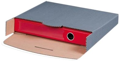 SmartBox 212160220 - Caja de cartón para archivador (32 x 28,8 x 8 cm, 20 unidades), color gris: Amazon.es: Oficina y papelería