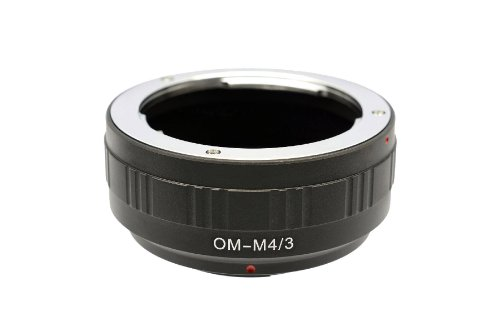 Gadget Place OM Lens Adapter for Olympus OM-D E-M5 II PEN E-PL7 E-P5 OM-D E-M10 OM-D E-M1 E-PL6 E-PL5 by Gadget Place