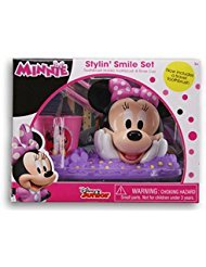 Minnie Mouse Stylin' Smile Set - Toothbrush Holder, Toothbrush & Rinse Cup