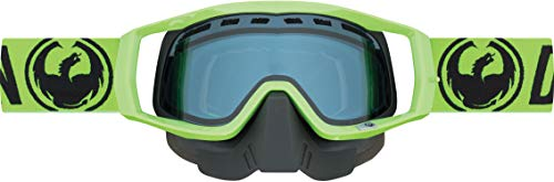 Dragon Vendetta Goggles Mens Break Green/Blue Lens (Dragon Vendetta Goggles)