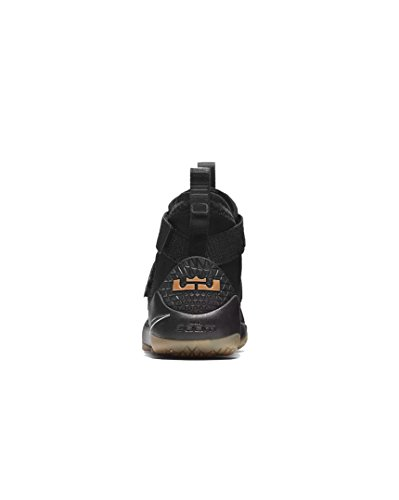 Black Team Light IX Lebron gum Soldier Brown Black Basketball Shoe Men's NIKE qw8Bv4In