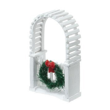 Department 56 Accessories for Villages Picket Lane Archway General Accessory, 3.35 inch