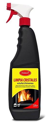 Tamar - Limpia Cristales especial Estufas / Chimeneas. Envase de 750 ml.