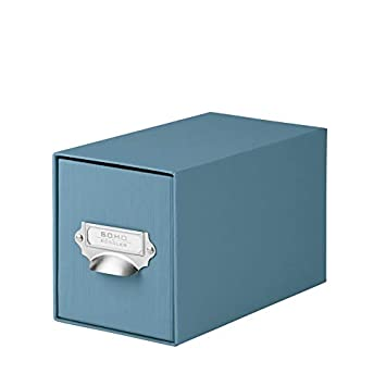 SOHO 1327452150 Denim CD índice de caja con asa y soporte, 1 unidad