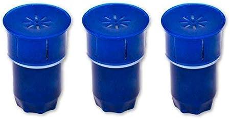 chillswell 3 unidades carbono filtros de agua para ajustarse a todas ...