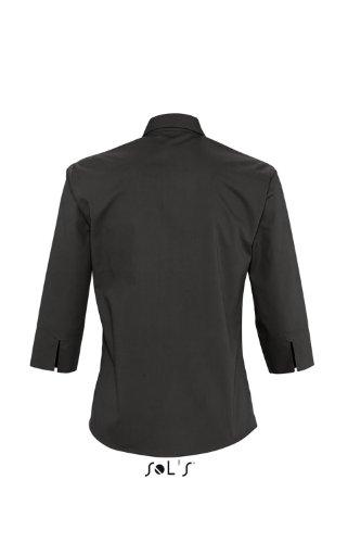 SOL´S - Ladies 3/4 Sleeved Shirt Eternity S,Black